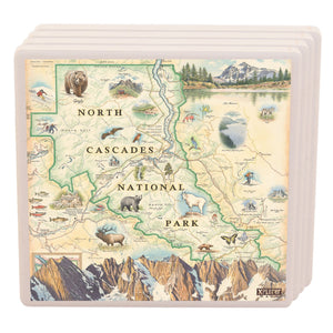 North Cascades Coasters