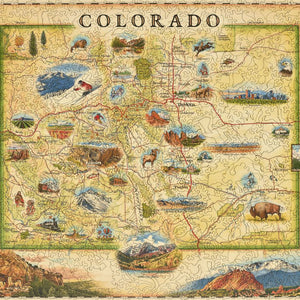 Colorado Wood Puzzle