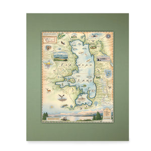Flathead Lake Mini-Map