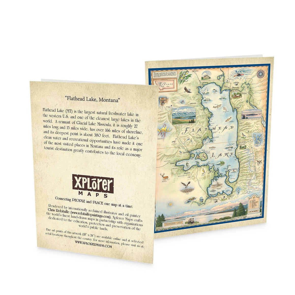 Flathead Lake Greeting Cards