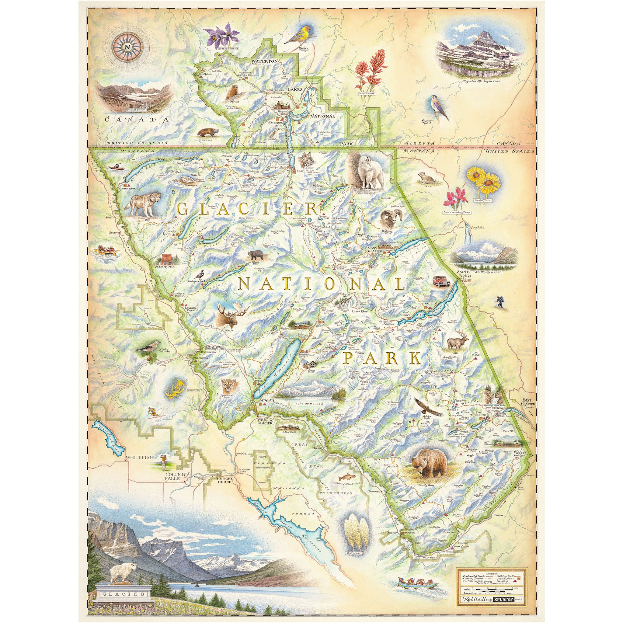 Glacier National Park Map on lagoon map, swamp map, volcano map, lake map, antarctica map, bering strait on world map, river map, dune map, last glacial maximum map, marsh map, iceberg map, coral reef map, hamilton map, united states tornado map, desert map, physical geography map, delta map, gulf map, mountain map, valley map,