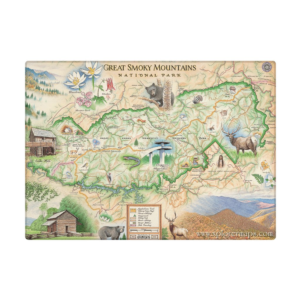 Great Smoky Mountains Magnets