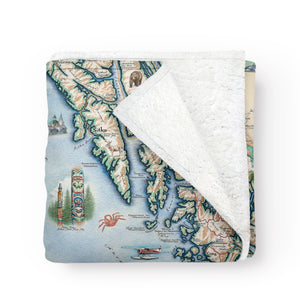 Inside Passage Fleece Blanket