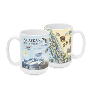 Inside Passage Mugs - Alaska