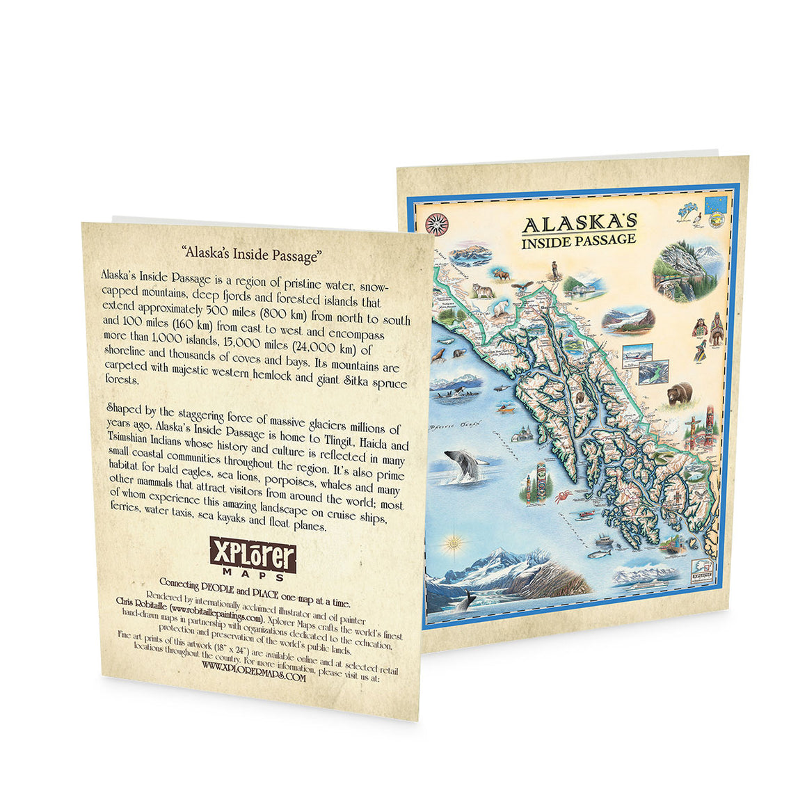 Inside Passage Notecards