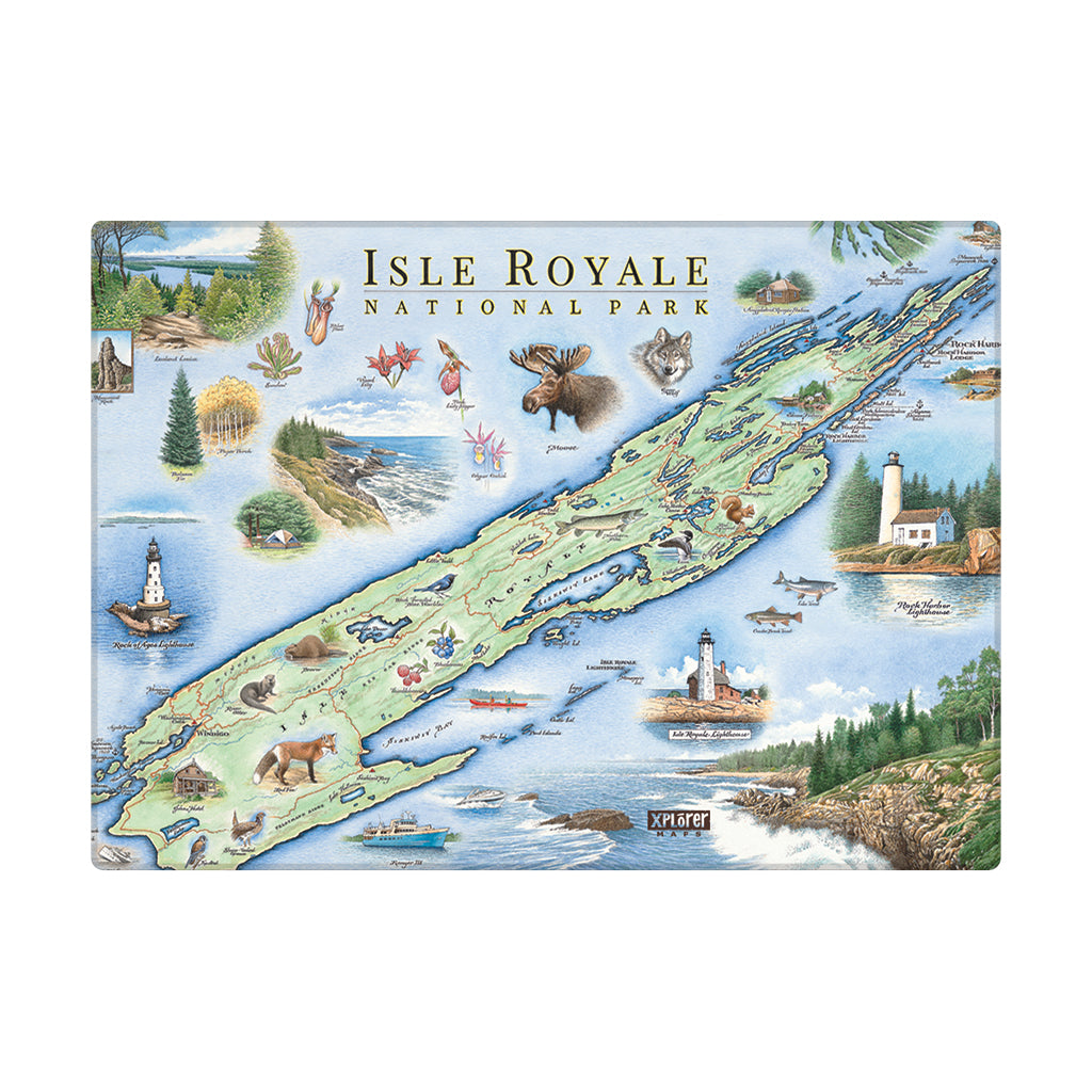 Isle Royale Magnets