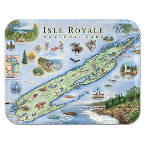 Isle Royale Wood Tray