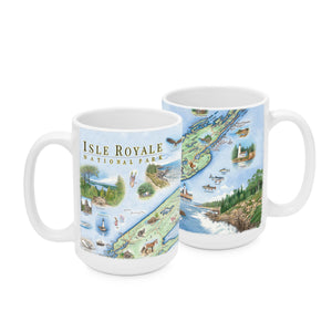 Isle Royale National Park Mugs