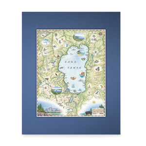 Lake Tahoe Mini-Map