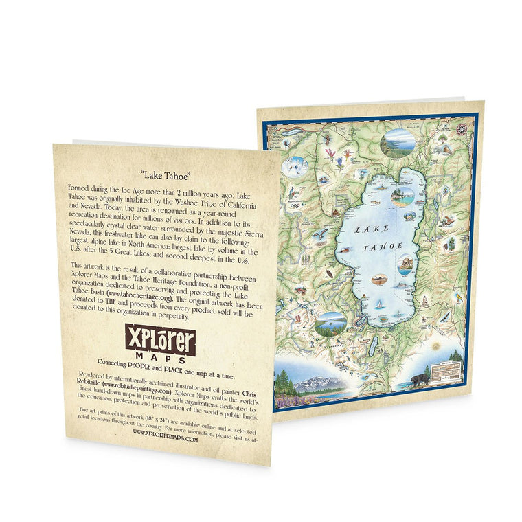 Lake Tahoe Greeting Cards