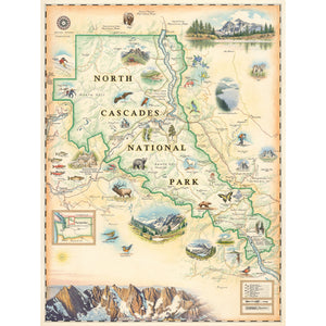 North Cascades Map