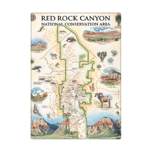Red Rock Canyon Magnets