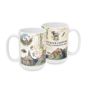 Red Rock Canyon Mugs
