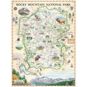 Rocky Mountain map