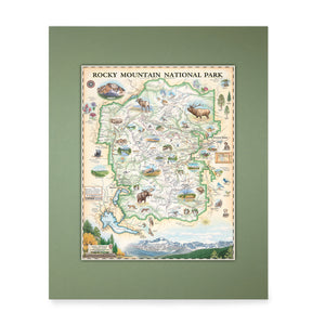 Rocky Mountain National Park Mini-Map