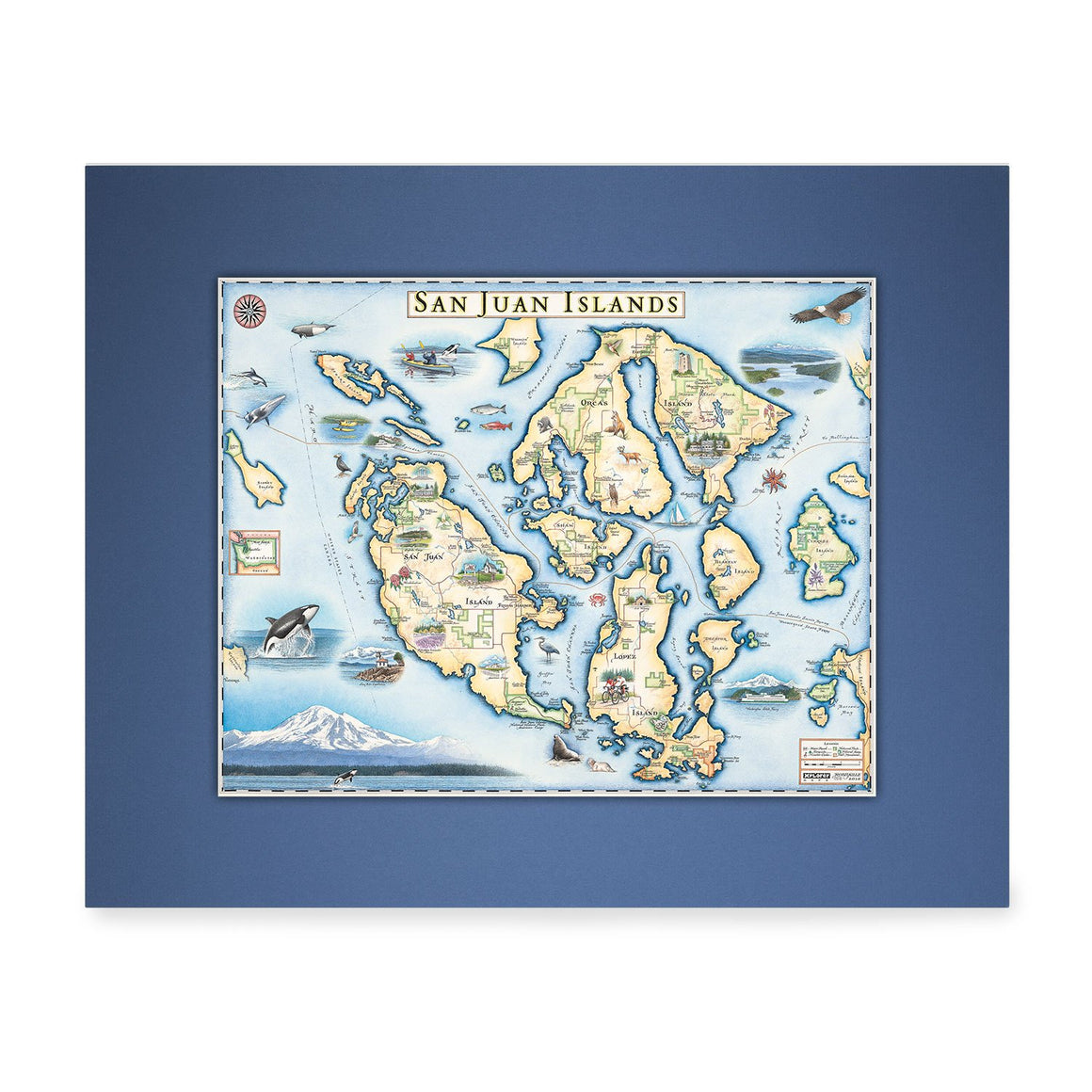 San Juan Islands Mini-Map