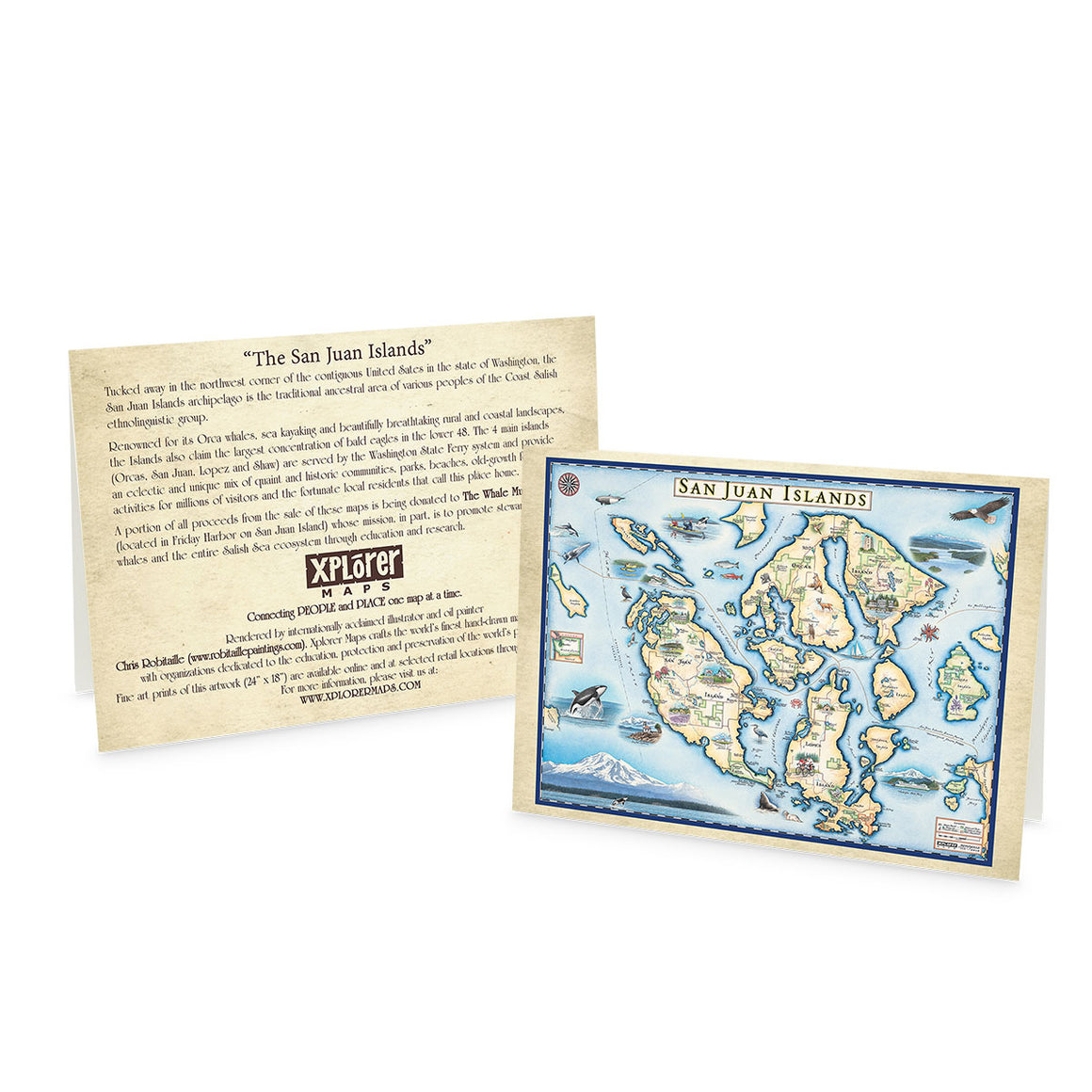 San Juan Islands notecards