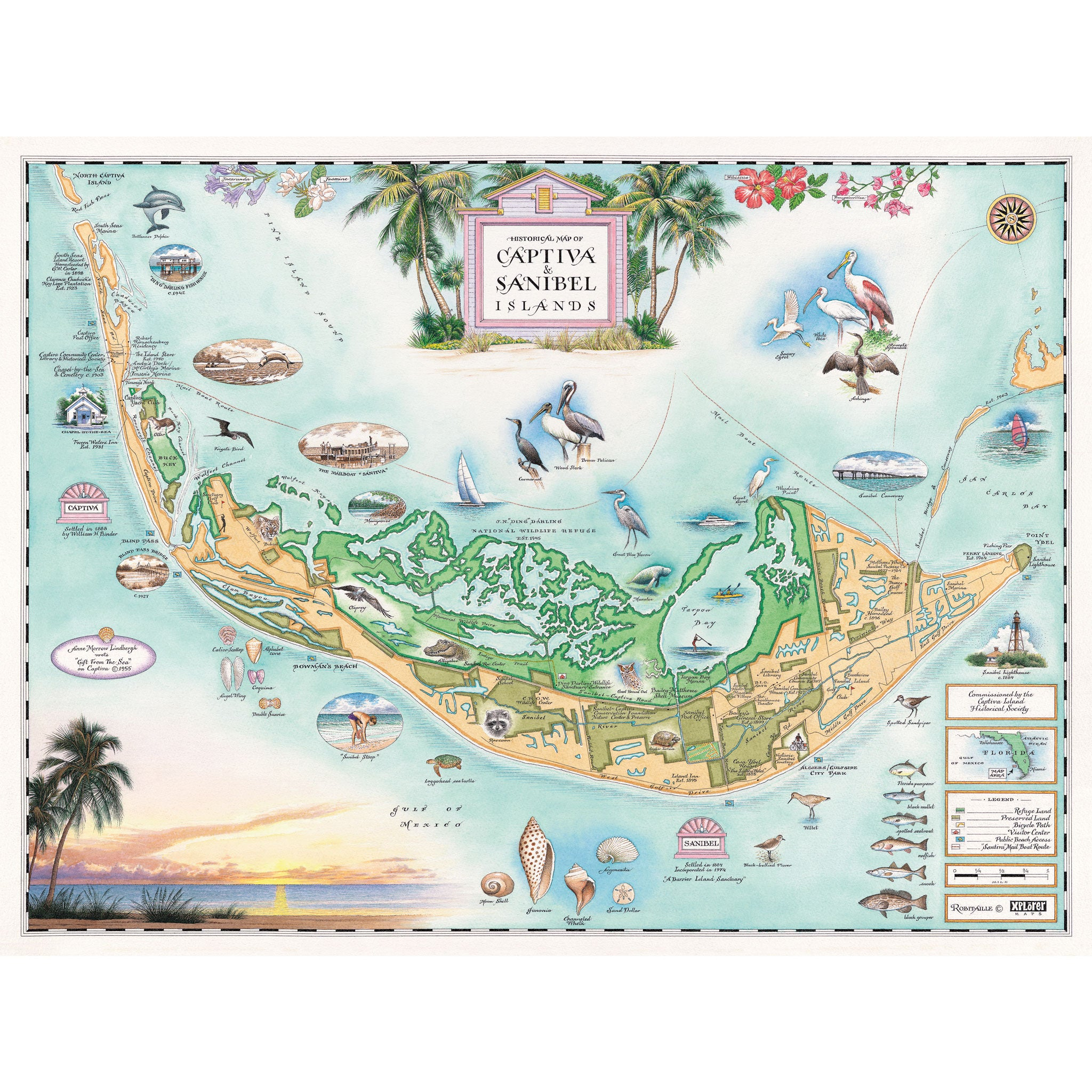 sanibelcaptiva islands map  xplorer maps - sanibelcaptiva islands map