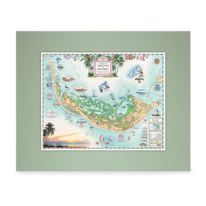 Sanibel Captiva Islands Mini-Map