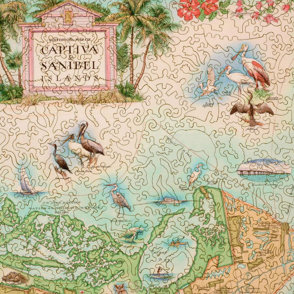Sanibel-Captiva Wood Puzzle