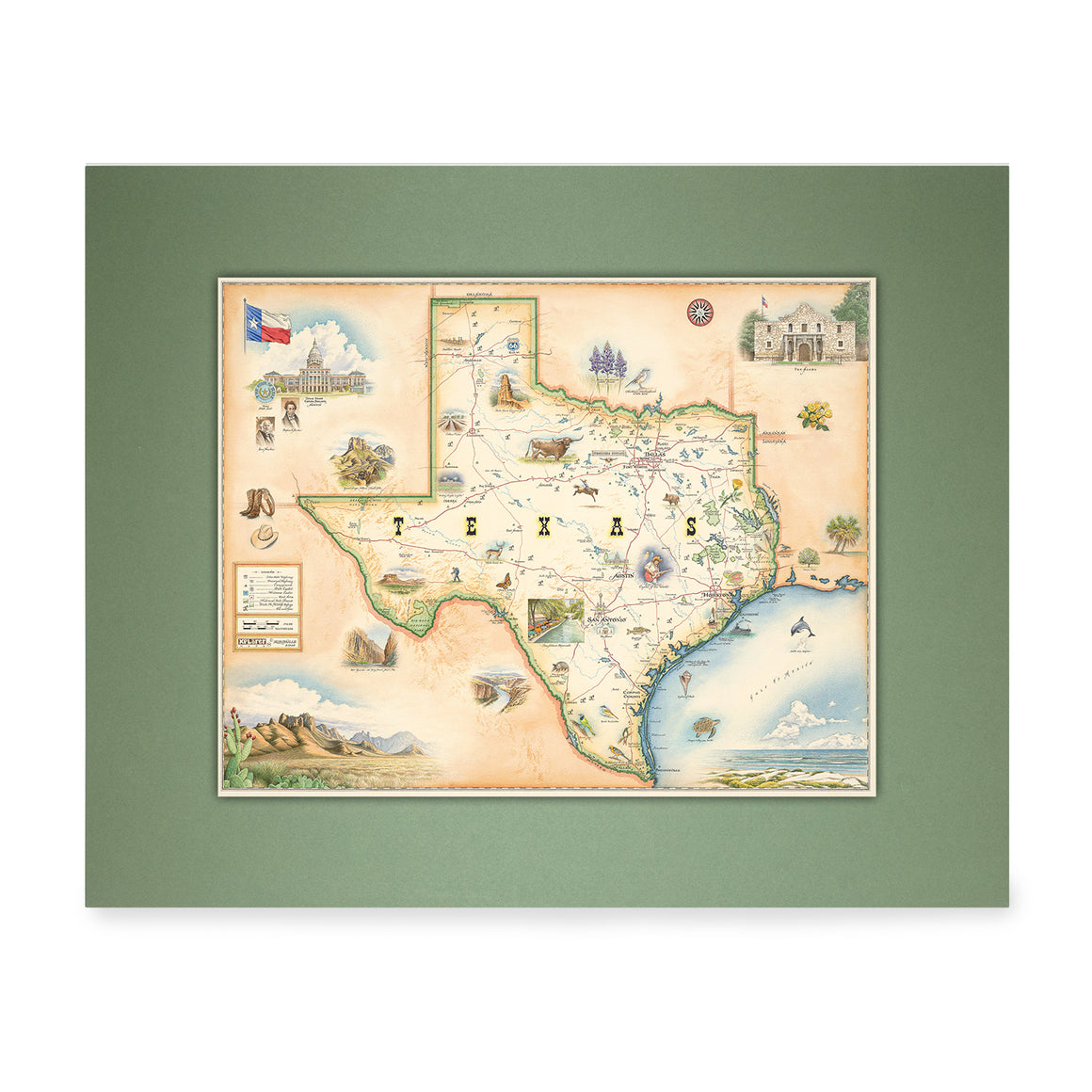 Texas Mini-Map