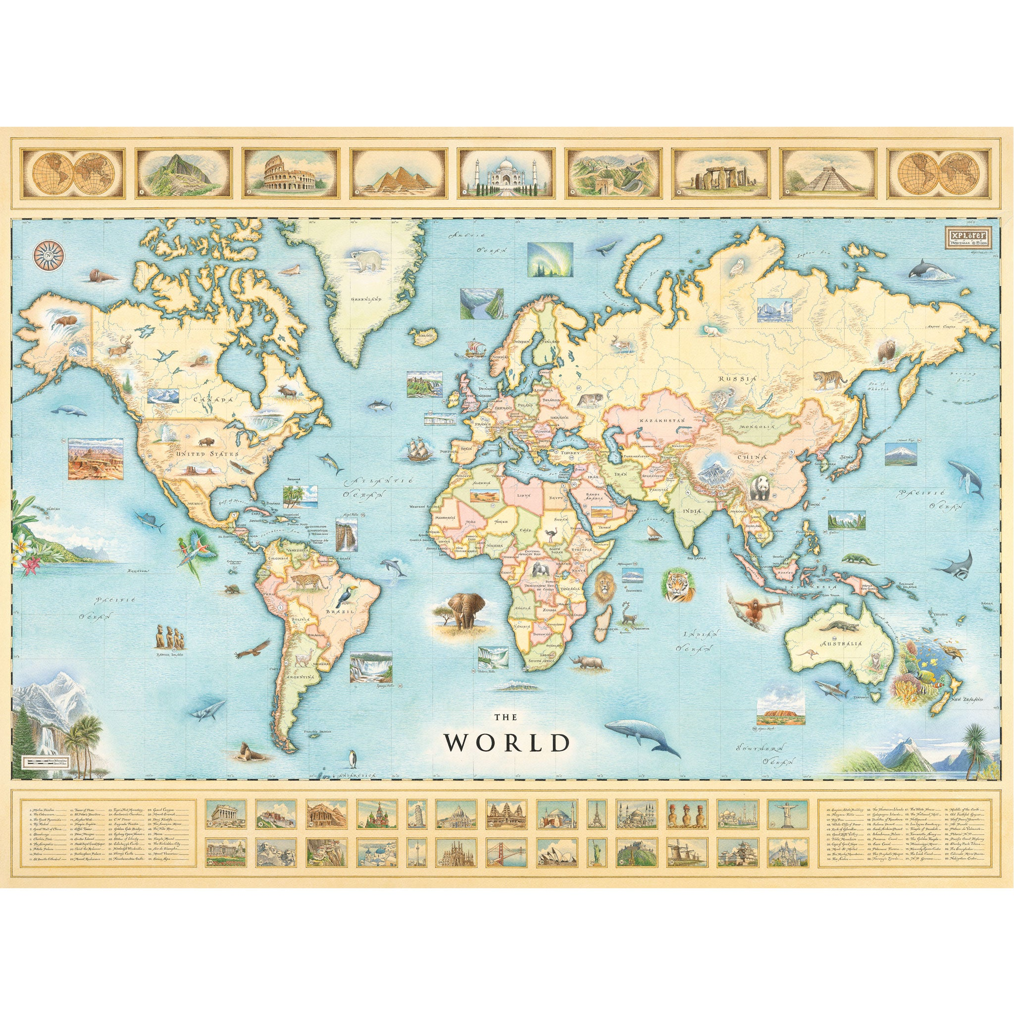 Usa world xplorer maps the world map gumiabroncs