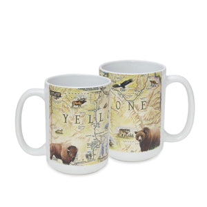 Yellowstone Ceramic Mug