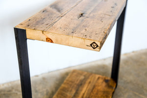 vault-furniture_reclaimed-pine_asymmetrical-table_side+table_cool-side-table_narrow-table