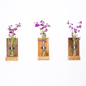 RUSTIC WALL MOUNTED BUD VASE _ VAULT FURNITURE _ VAULT VASE