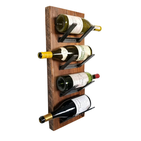 Reclaimed Pine Wine Racks