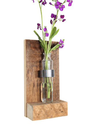 Floating Bud Vase + Vault Furniture
