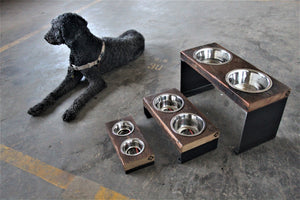 industrial pet bowls + chicago + vault furniture