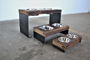 elevated pet bowls + vault furniture + chicago