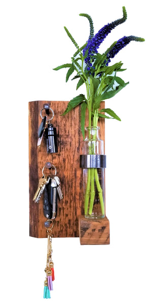 Rustic key rack