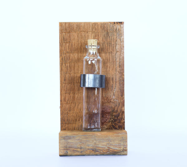 Rustic Wall Vase : Reclaimed Wood Bud Vase