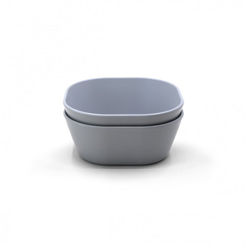 Mushie Bowl Square - Cloud [set van 2 stuks]
