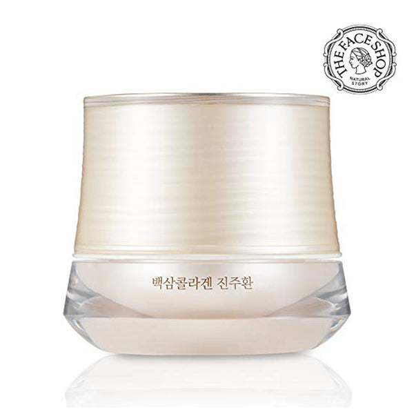 THEFACESHOP Yehwadam White Ginseng Collagen Pearl Capsule Cream