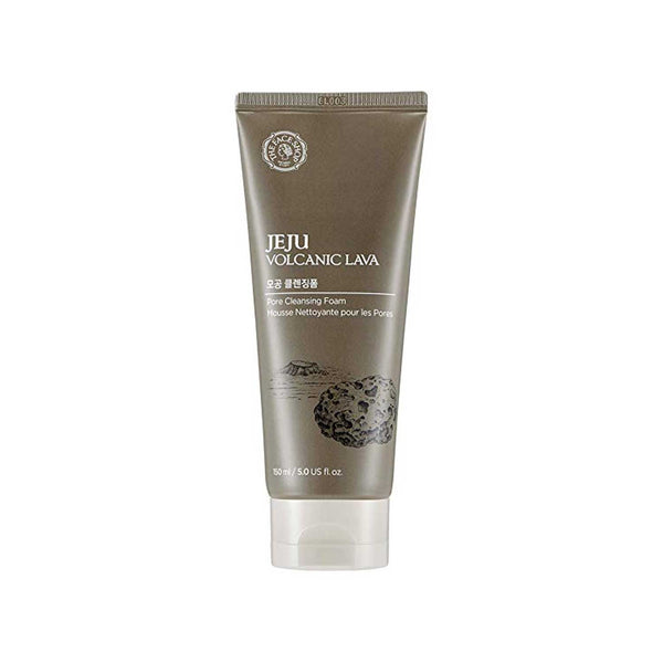THEFACESHOP Jeju Volcanic Lava Pore Cleansing Foam For Facial Cleansing 5.0 oz