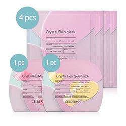 CELDERMA Crystal Hydrogel Sheet Mask Pack