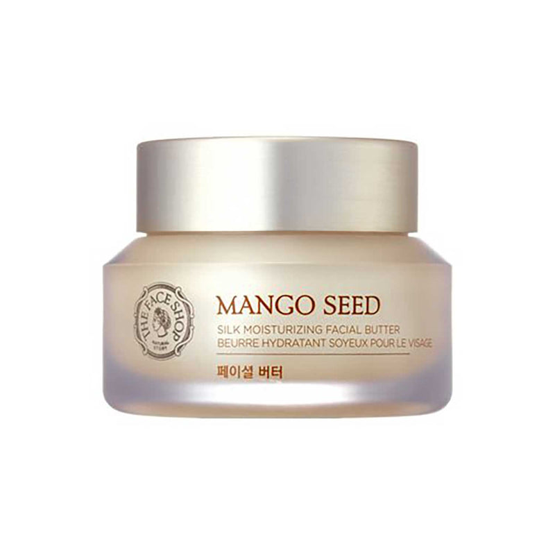 THE FACE SHOP Mango Seed Silk Mositurizing Facial Butter, 50mL/1.69Oz