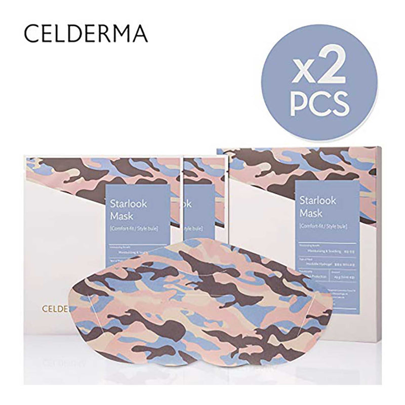 CELDERMA Face Mask Pack (2 Sheets)