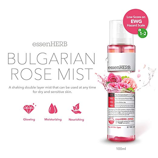 ESSENHERB Bulgarian Rose Mist 100ml