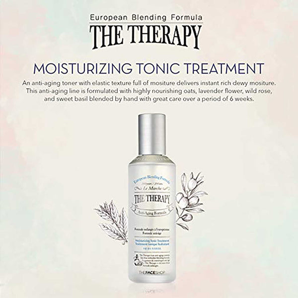 THEFACESHOP The Therapy Hydrating Tonic Treatment Anti Aging Wrinkle Care