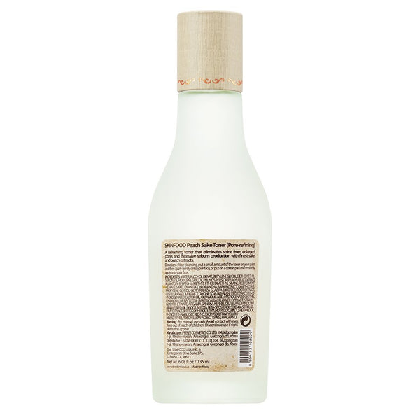 Skinfood Peach Sake Toner 135ml (4.56 fl.oz.)