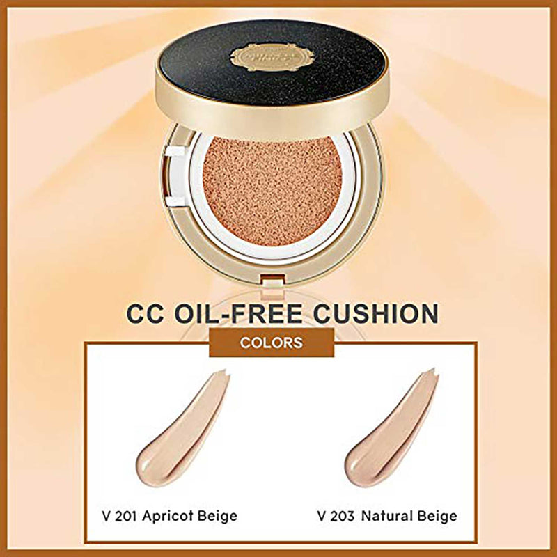THEFACESHOP Miracle Finish CC Oil-Free Cushion Set (Cushion + Refill)