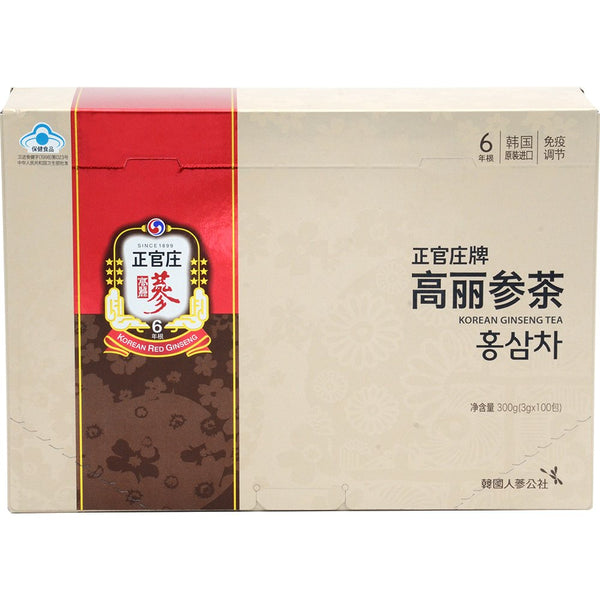 KGC Ginseng Tea Extract, 100 Count