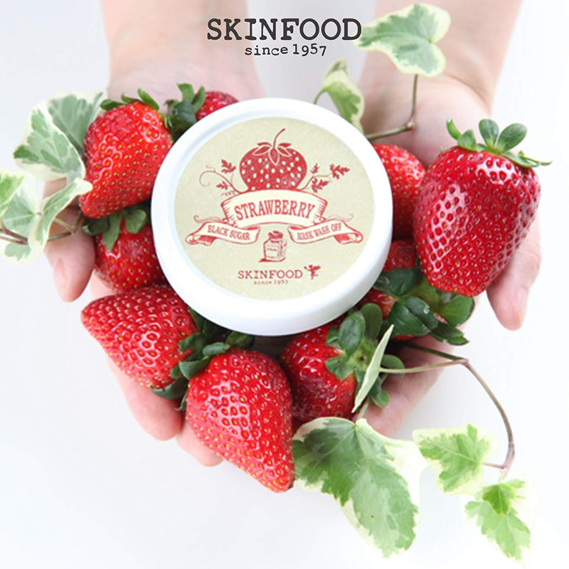 Skinfood Black Sugar Strawberry Mask Wash Off 100 g (5.99 oz)