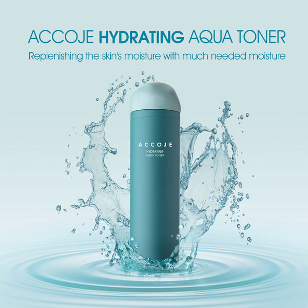 Hydrating Aqua Skin Toner, Purifying Toner for Face, Refreshes and Moisturizes Skin, Quick Absorbtion for Perfect pH Balance - (130 ml/4.4 fl oz)