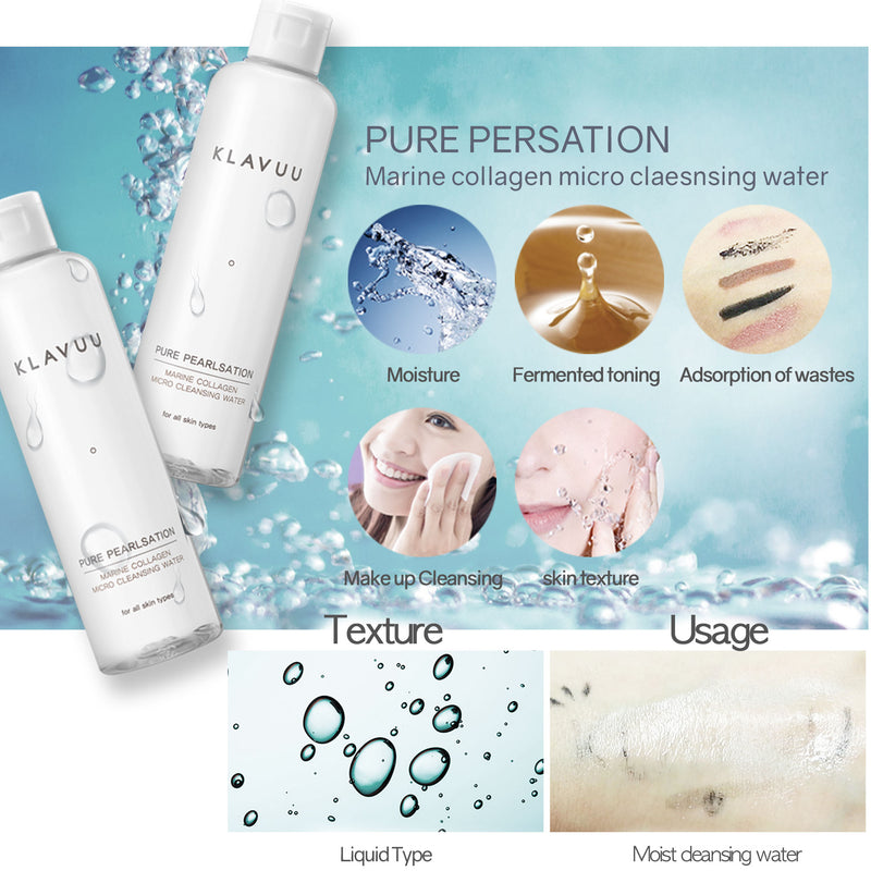 Klavuu Pure Pearlsation Marine Collagen Micro Cleansing Water