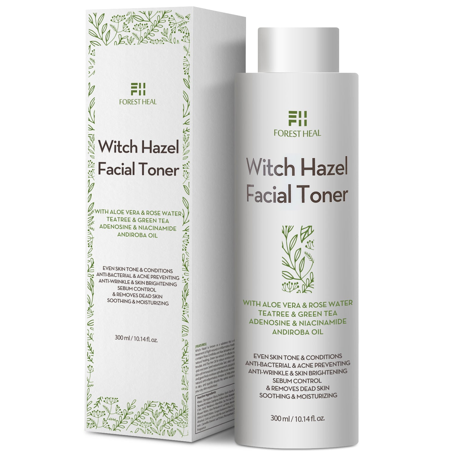 FORESTHEAL Natural Witch Hazel Face Toner